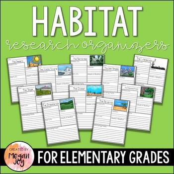 Biome / Habitat Research Packets