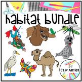 Habitat  Bundle Clip Art