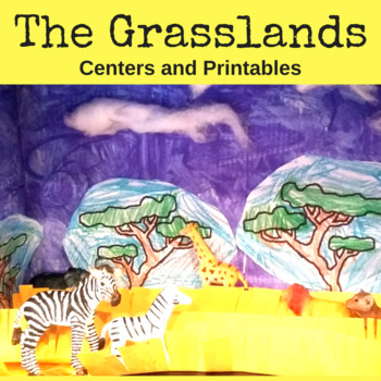 Habitat Centers and Activities for The Grasslands