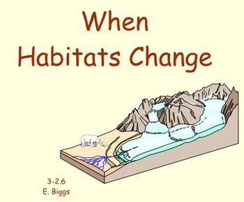 Habitat Changes - Smartboard Lesson