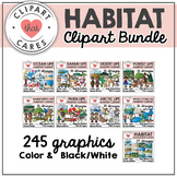 Habitat Clipart Bundle by Clipart That Cares