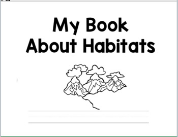 Habitat Coloring and Activity Book