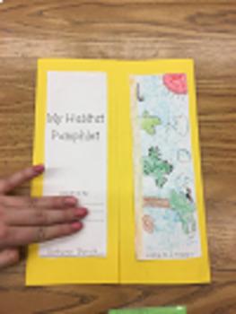 Habitat/Environment Pamphlet