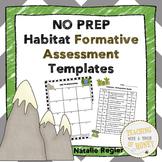 Habitat Assessment: NO PREP Templates