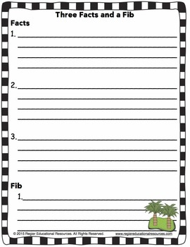 Formative Assessment Templates For Grade 1, 2, and 3 - Habitats