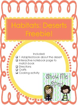 Habitat Freebie: Deserts