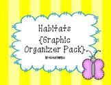 Habitat Graphic Organizer Pack