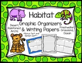 Habitat Graphic Organizers and Writing Papers