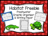 Habitat Graphic Organizer and Writing Paper Freebie