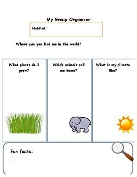 Habitat Information Organizer