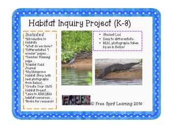 Habitat Inquiry Project (K-3)