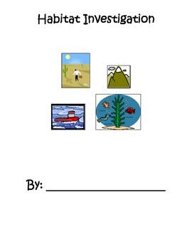 Habitat Investigation Report Form