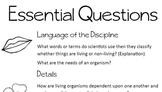Habitat Journal Essential Questions