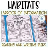 Habitat Lapbook and Research Flip Books