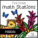 Habitat Math Stations
