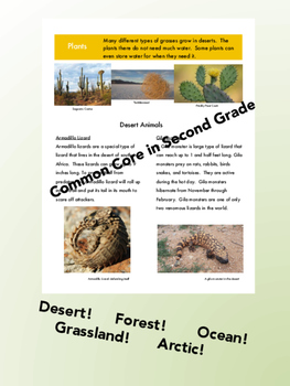 Habitat Newsletter- Nonfiction Text!  Research!