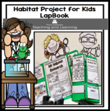 Habitat (Biomes) Project for Kids LapBook