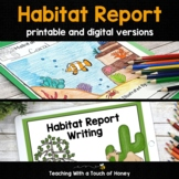 Habitat Research Project: Habitat Report Printable & Digit