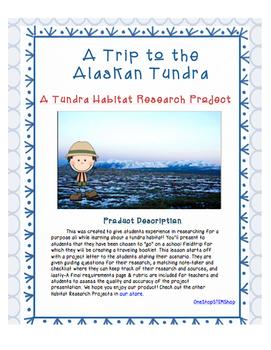 Habitat Research Activities Bundle! 5 Research Activities in 1!