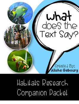 Habitat Research Companion