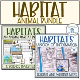 Habitat Research Lapbook and Flip Book Bundle