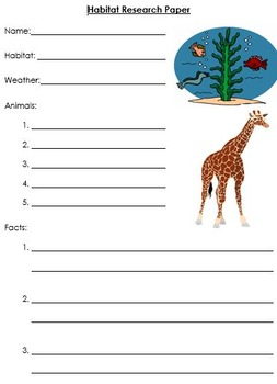 Habitat Research Paper