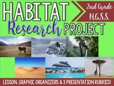 Habitat Research Project-NGSS-(2-LS4-1)