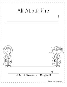 Habitat Research Project Packet