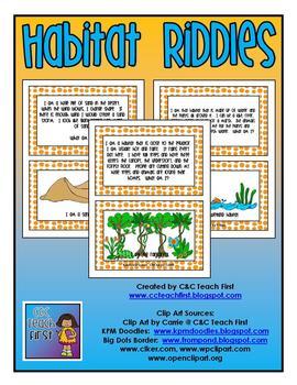 Habitat Riddles