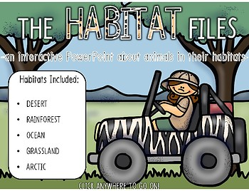 Habitat Powerpoint: Interactive Safari