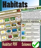 Habitat Science PDF File - 80 pages Printable pages