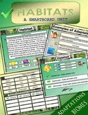 Habitat Science Smartboard Unit - 51 pages