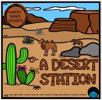 Habitat Series - A Desert Station