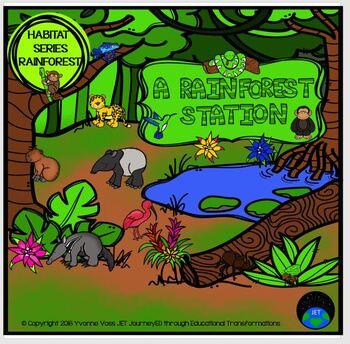 Habitat Series - A Rainforest Station