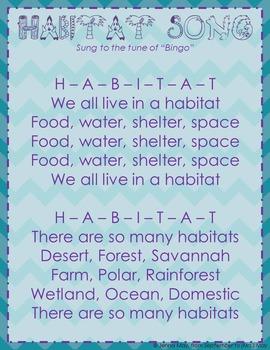 Habitat Song Freebie