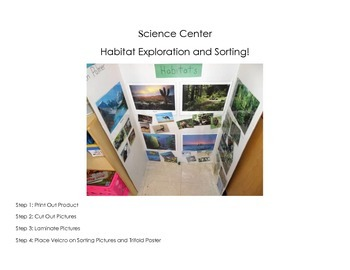 Habitat Sort - Science Center