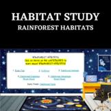 Habitat Study- Rainforest Habitat - STEM