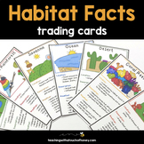 Habitats Trading Cards: Facts For Habitat Research