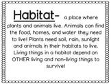 Habitat Worksheet