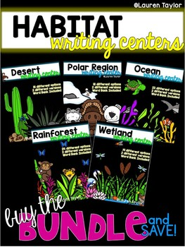 Habitat Writing Center BUNDLE