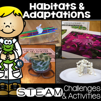 Habitat and Adaptation STEM Activites