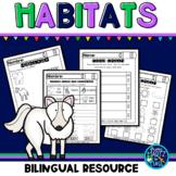 Habitat and Food Chain/Hábitat y Cadena Alimenticia (English & Spanish)