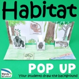 Habitat of Animals Pop-up Craft Activities - 7 Animal Habitats to Make