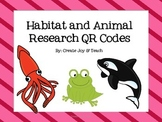 Habitat or Animal Research with QR codes