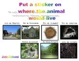 Habitat sorting (animals)
