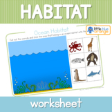 Habitat worksheets