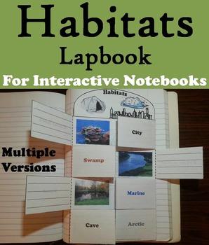 Animal Habitats Activities: World Biomes Foldables (Ecosystems Unit)