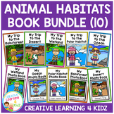 Animal Habitats Interactive Book Bundle