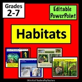 Habitats Editable PowerPoint