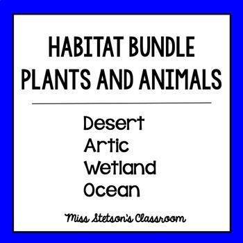 Habitats Bundle - Display Cards